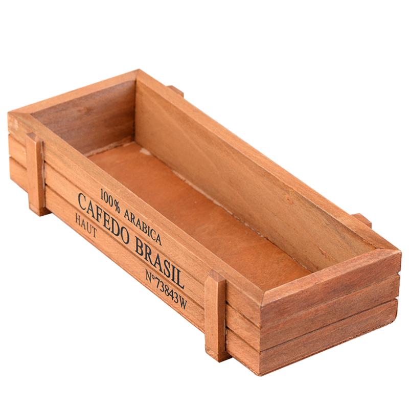 New wood planter garden yard rectangle flower plant bed - Jardineras de madera ...