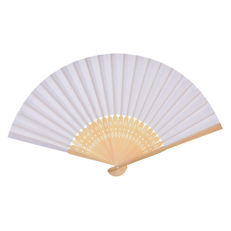 Hand Held Fans : Ladies hand held white sexy fan party wedding favours