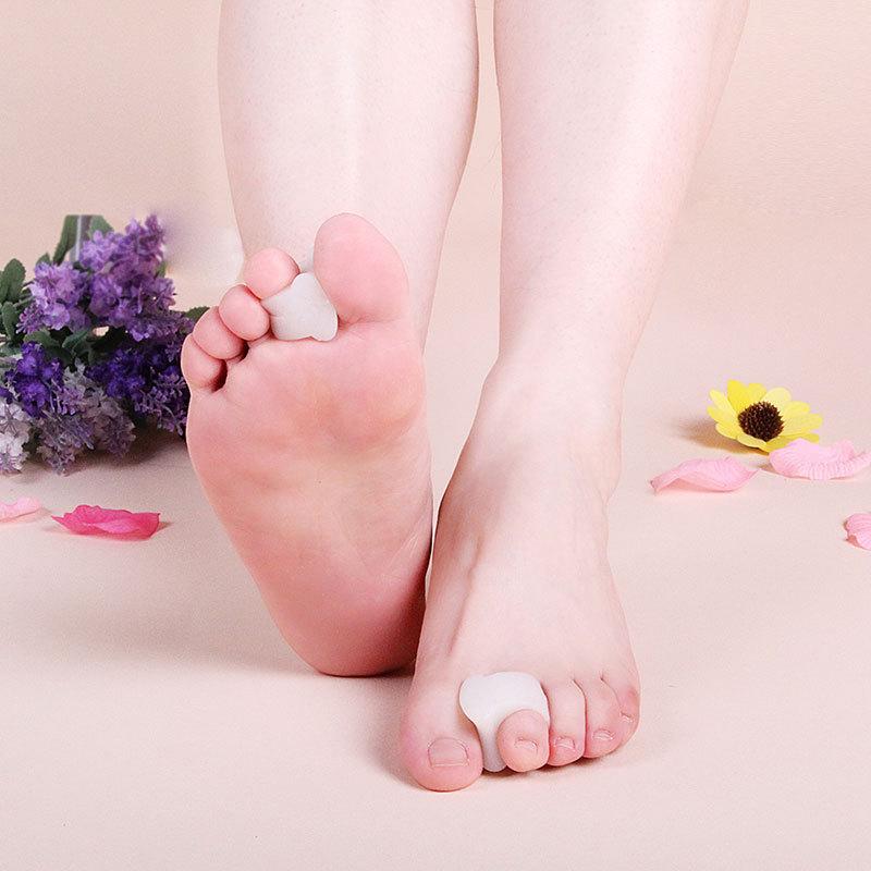 2x gel bunion corrector toe separators correction hallux valgus foot