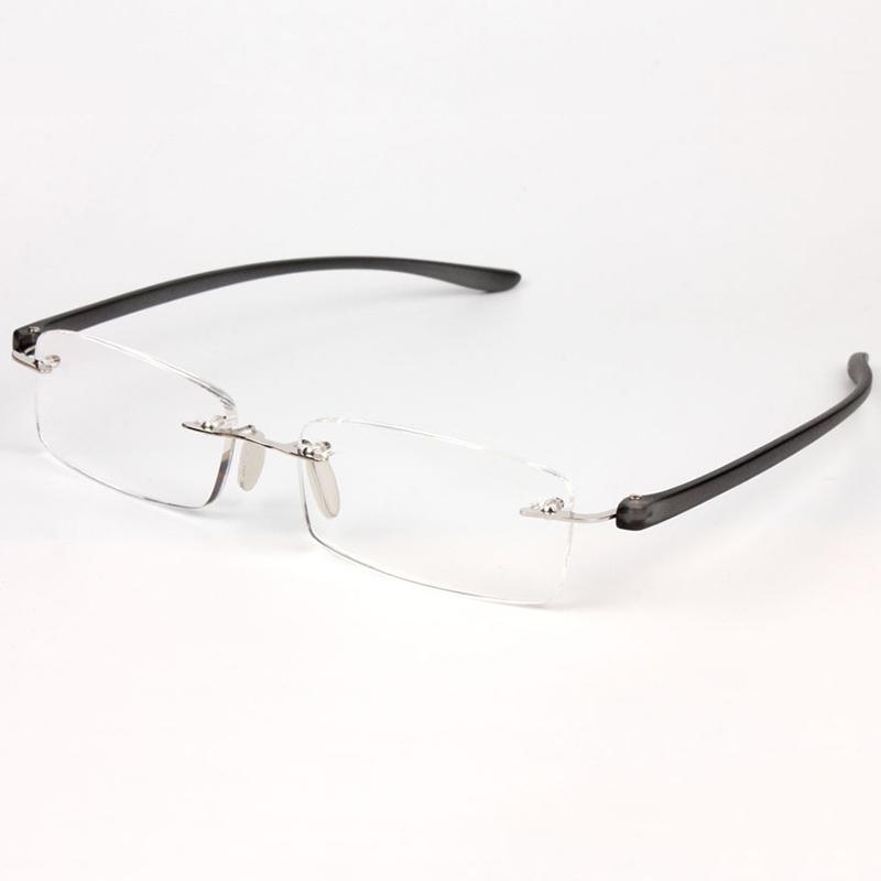 Frameless Glasses Best : New Unfolded Frameless Design Men Womens Reading Glasses ...