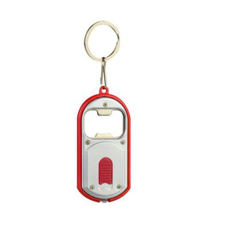 1pcs mini colourful bright led light torch bottle opener tool key ring keychain ebay. Black Bedroom Furniture Sets. Home Design Ideas