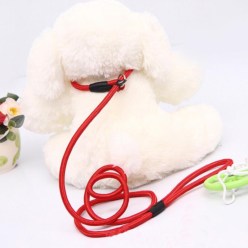 Collier d'entrainement en nylon rond pour chiens