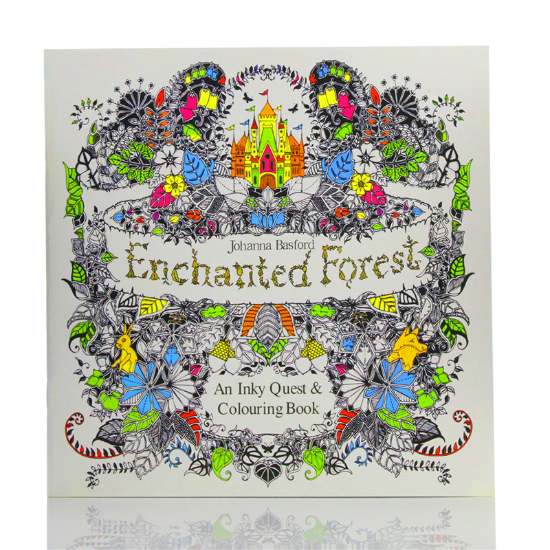 Colouring Book Large Anti Stress Art Therapy Relaxing