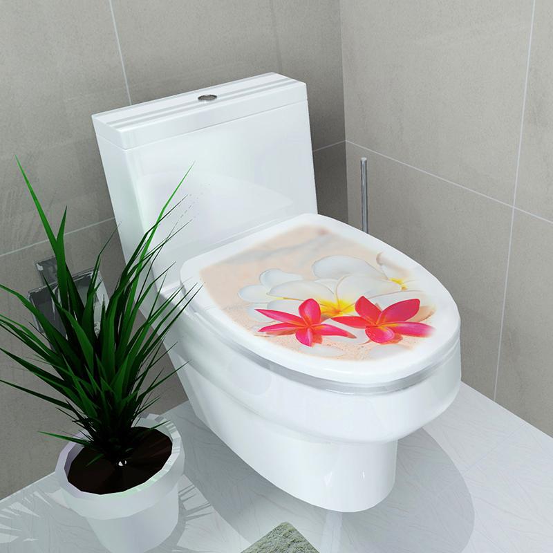 Toilet Seat Wall Sticker Decals Vinyl Art Wallpaper