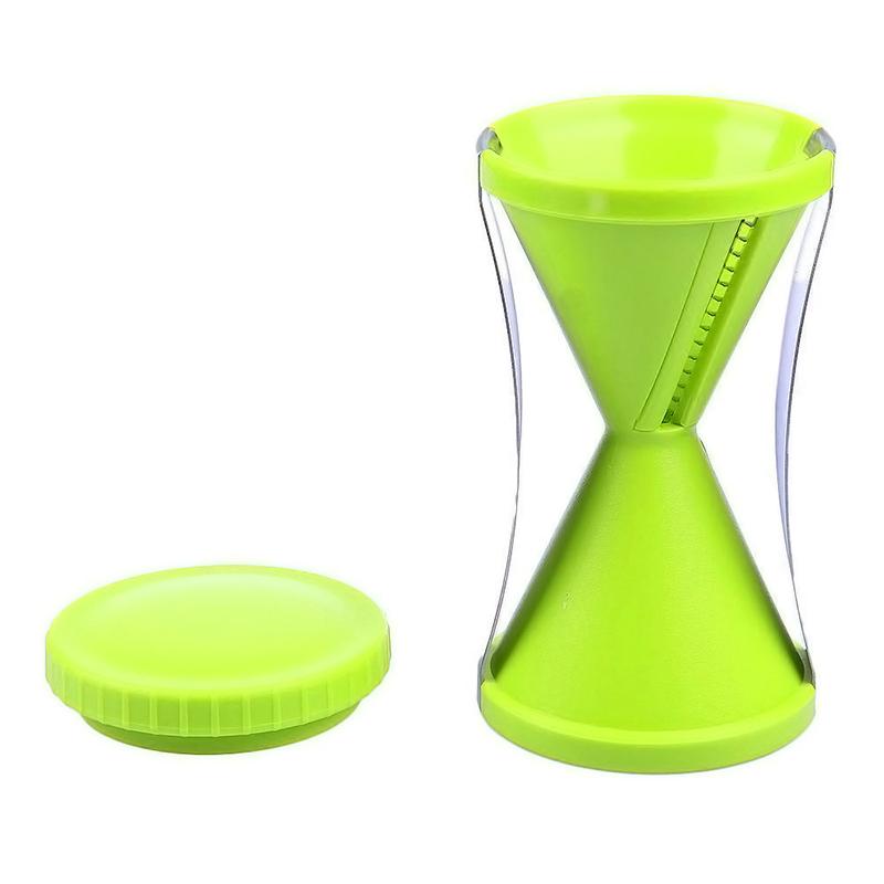 New Spiral Slicer Cutter Vegetable Fruit Spiralizer ...