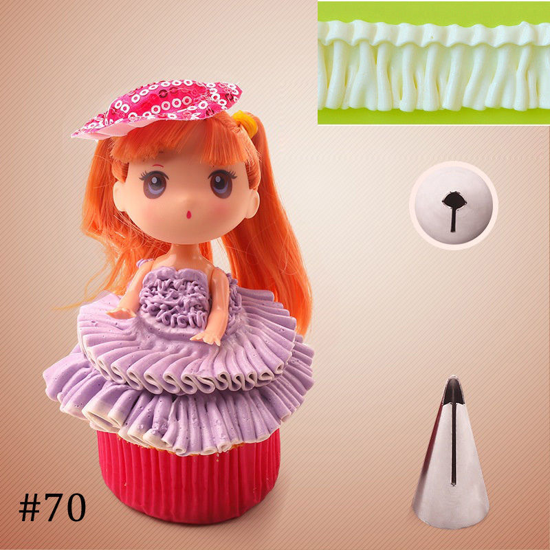 Best Cake Decorating Nozzles : 5PCS Top Icing Piping Nozzles Tips Fondant Cake Decorating ...