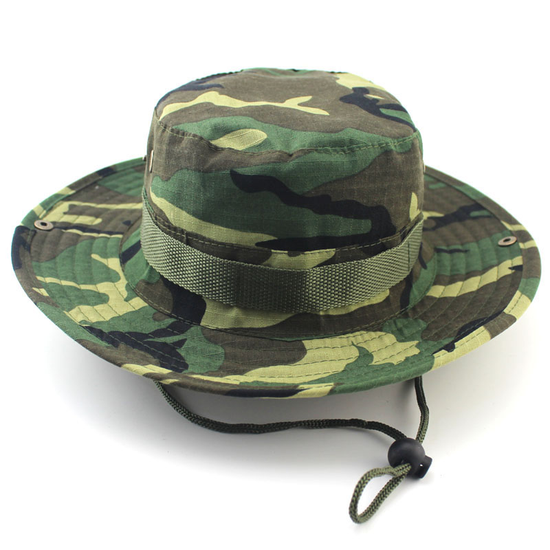 Men 39 s bucket hat wide brim hunting fishing camping boonie for Fishing bucket hat
