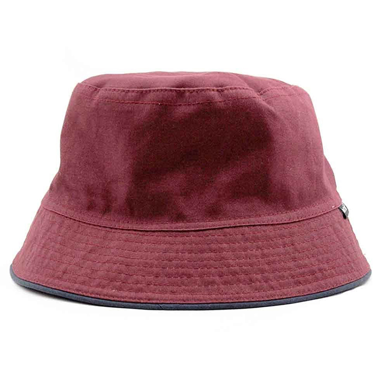 Men women unisex cotton bucket hat double side fishing for Fishing boonie hat