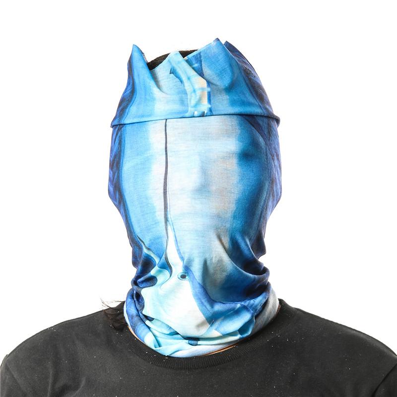 Fishing headwear neck gaiter scarf tube balaclava bandana for Neck gaiter fishing