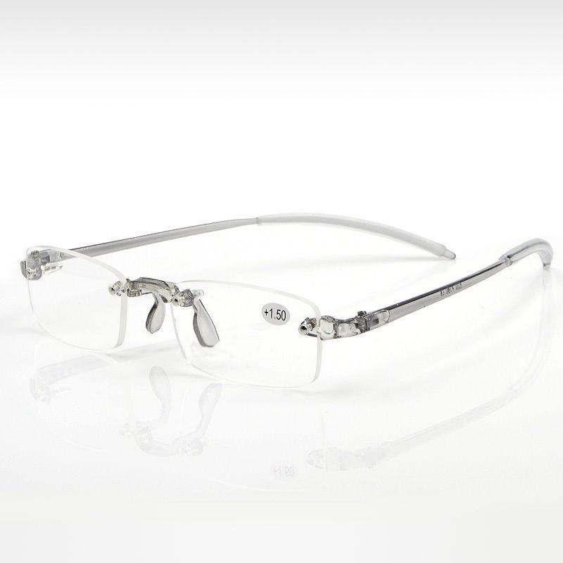 High End Women s Eyeglass Frames : New Ultra-High-End Men And Women Reading Glasses Rimless ...