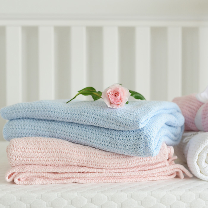baby newborn kuscheldecke babydecke baumwolle baby decke f r kinder baby ebay. Black Bedroom Furniture Sets. Home Design Ideas
