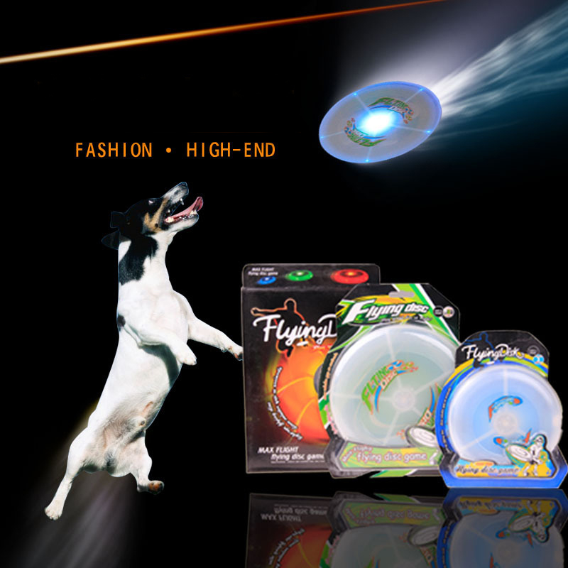led frisbee multi color fliegen scheibe spielzeug f r. Black Bedroom Furniture Sets. Home Design Ideas