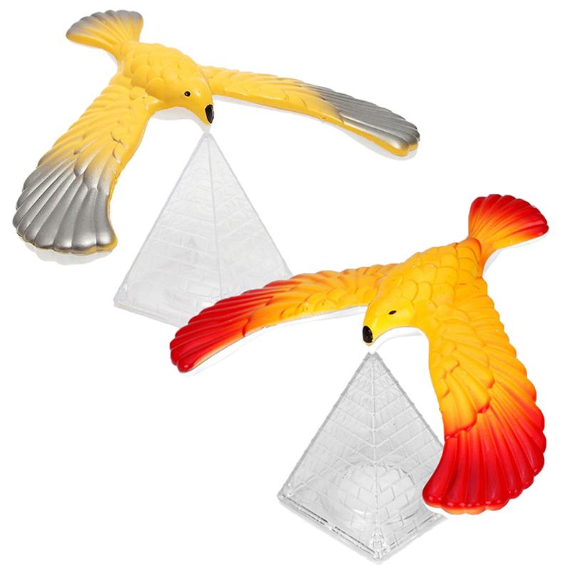 Magic Balancing Bird Science Desk Toy Base Novelty Eagle