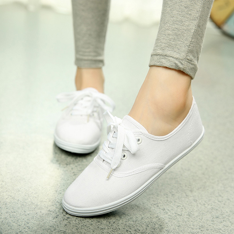 Unbranded White Canvas Shoes