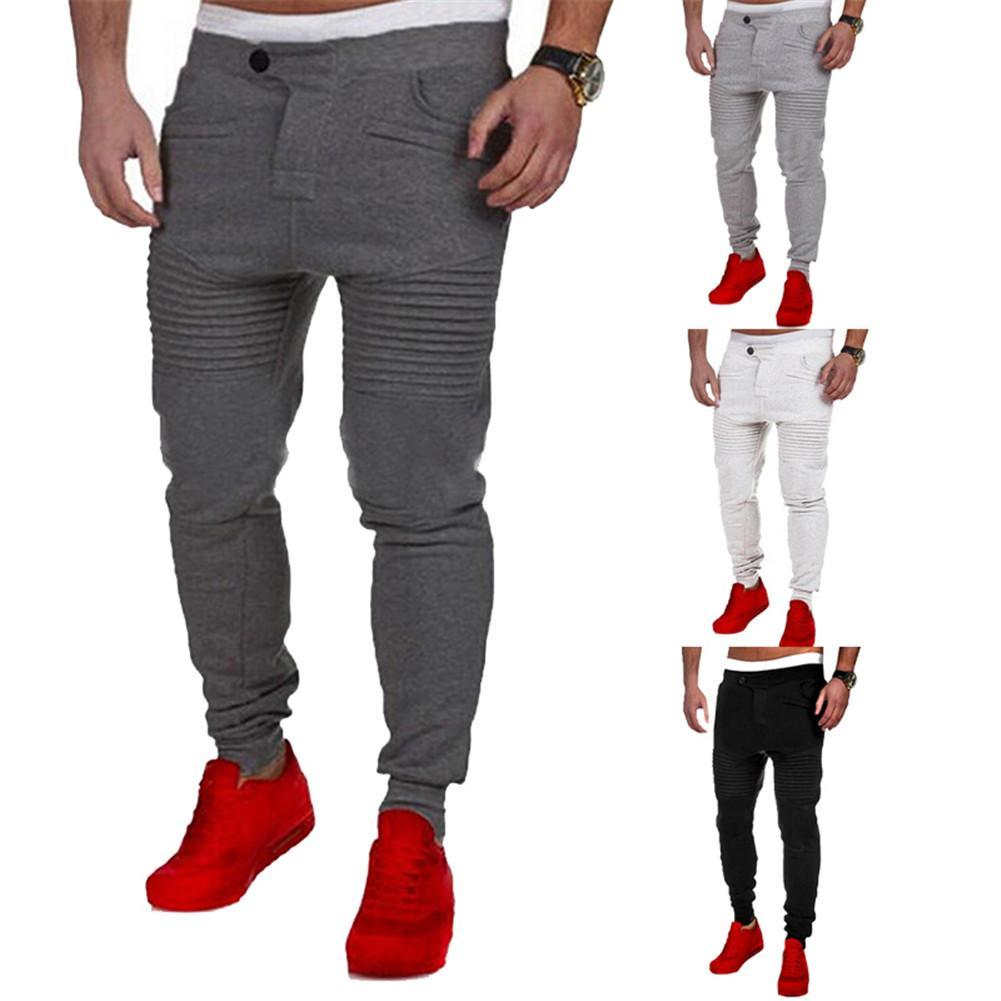 mens jogger dance sportwear baggy harem pants slacks
