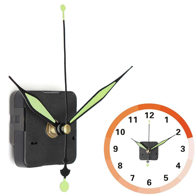 silent quartz wall clock spindle movement mechanism part