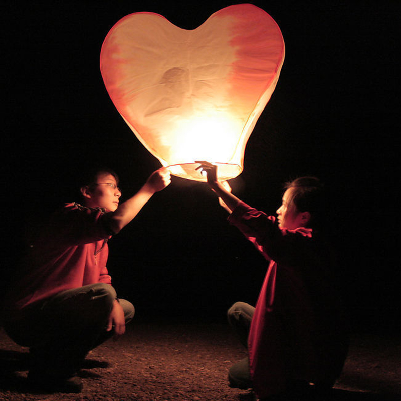 Sky Lanterns Wedding: Chinese Paper Lanterns Flying Sky Floating Wishing Lamp