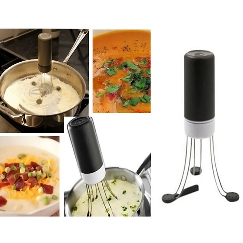 automatic hands free robo food sauce auto stirrer stir blender utensil kitchen. Black Bedroom Furniture Sets. Home Design Ideas