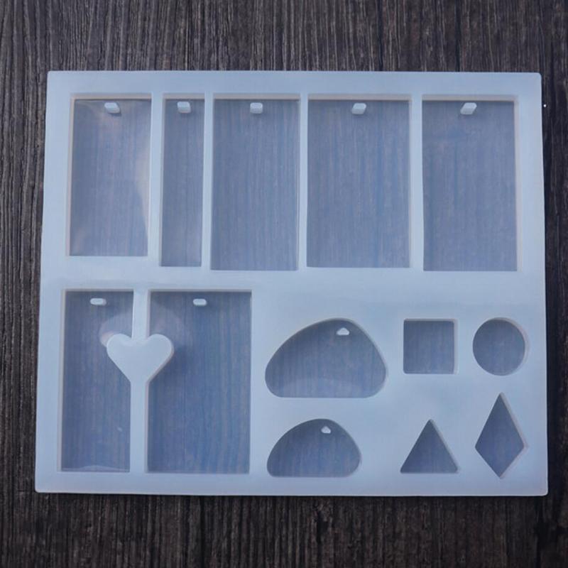 Epoxy Mold Making : Diy rectangle stone cabochon silicon mold epoxy resin