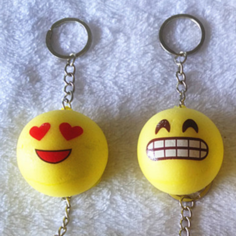 6CM Jumbo yellow funny Emoticons Squishy Bread Keychain Bag Phone Charm Strap eBay