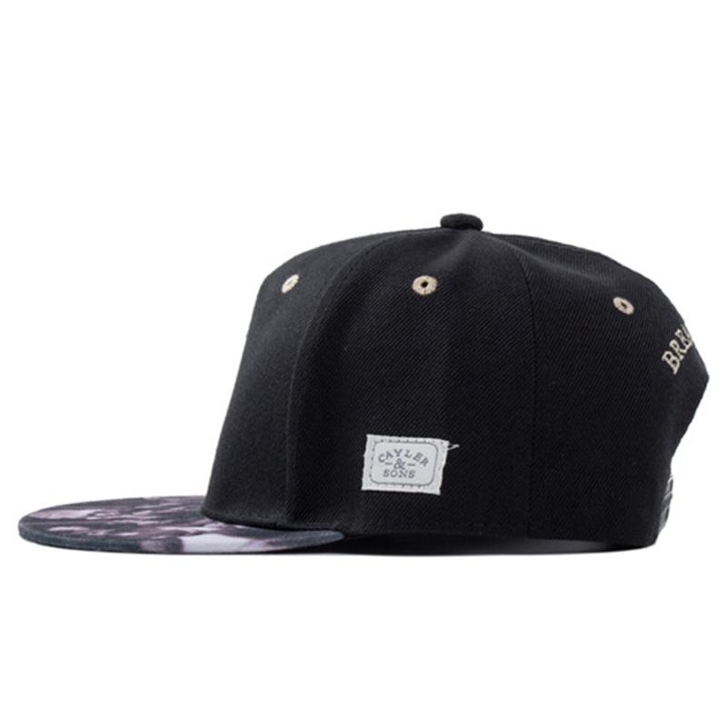 mens cool snapback hat flat brim bboy hip hop