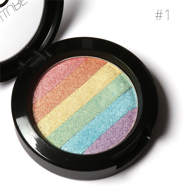 New Sexy Rainbow Highlighter Blusher Eyeshadow Powder ...