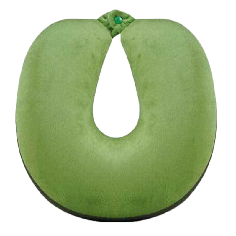 Cool Cartoon U Shape Fruit Pillow Travel Memory Foam Neck Support Headrest Set Ebay