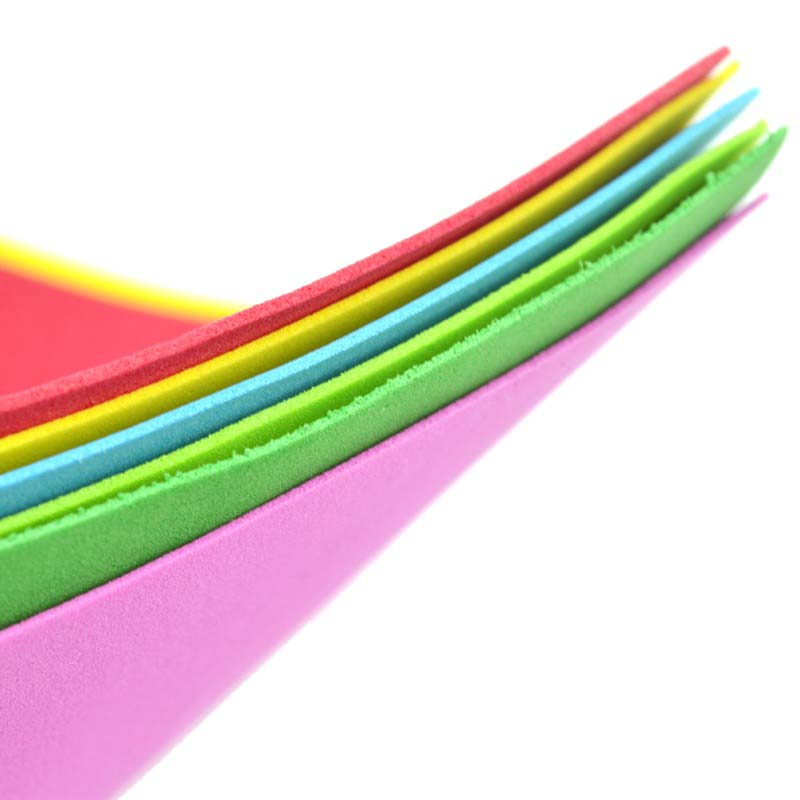 10 sheets bag thick multicolor a4 sponge eva foam paper for How to cut thick craft foam