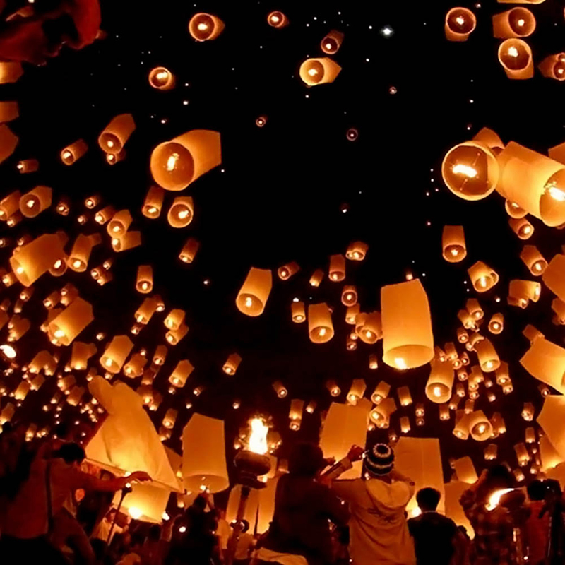 how to make chinese paper lanterns that fly
