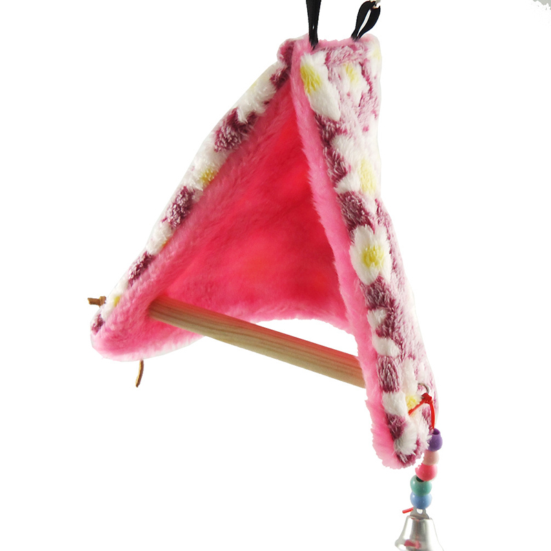 bird parrot warm fleece hammock perch tent hanging swing toys bed cave cage bunk ebay. Black Bedroom Furniture Sets. Home Design Ideas