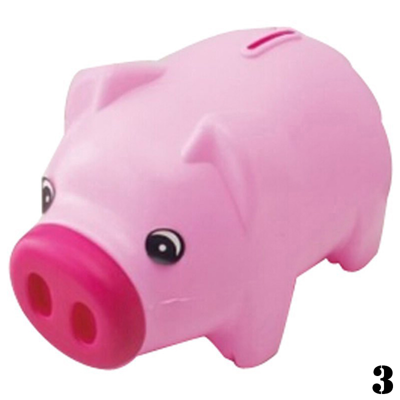 Lovely Cute Cartoon Pig Shape Coin Storage Money Saving ...