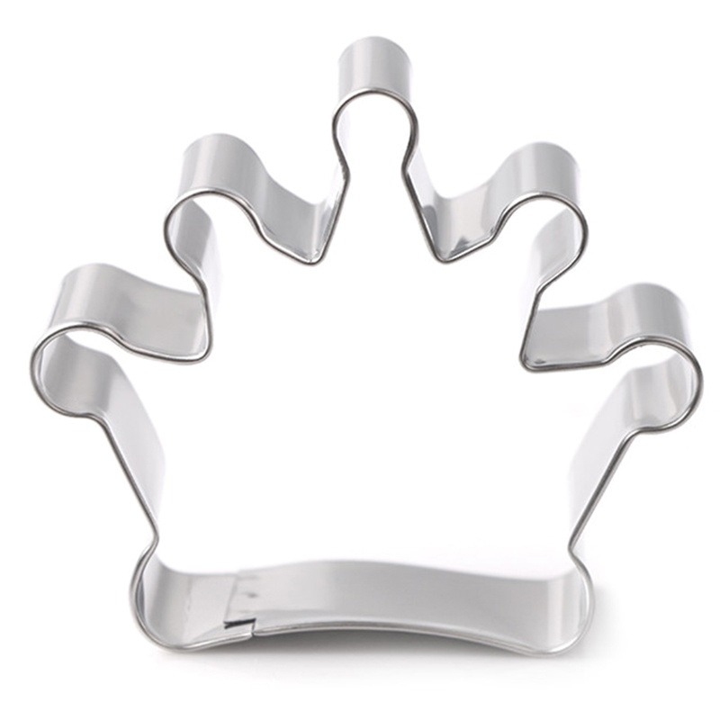 Fondant Crown Pastry Decorating Baking Cutter Cookies Tool ...