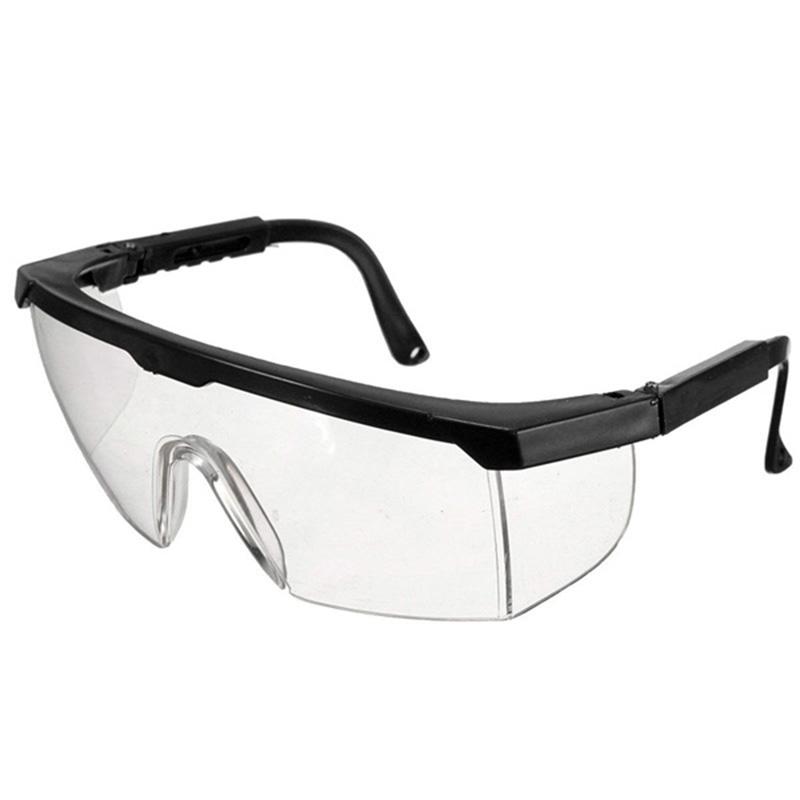 blue ski goggles  clear goggles