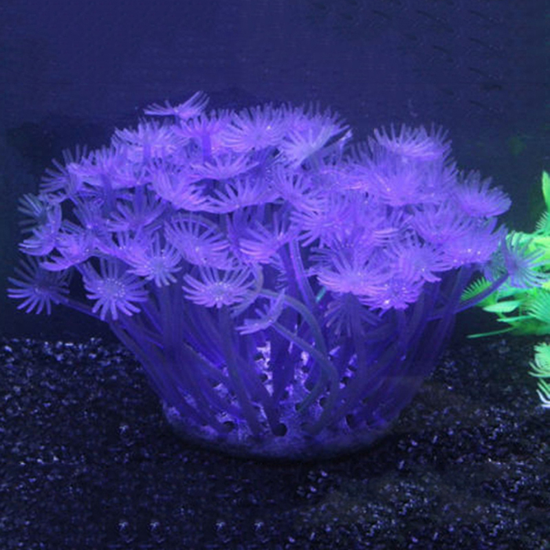 New artificial coral ornament aquarium fish tank decor for Artificial coral reef aquarium decoration uk