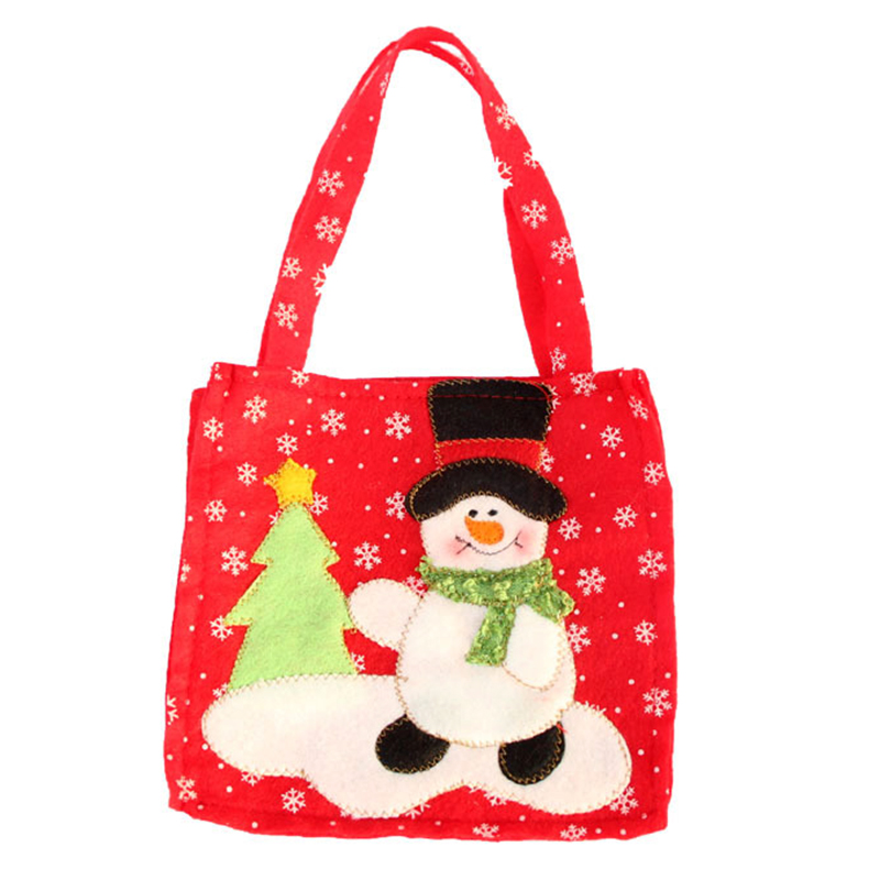 Christmas wedding candy wine gift bag child trick or treat