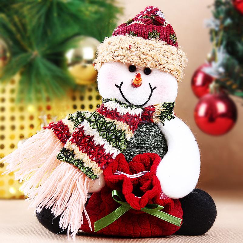 Cool Snowman Decoration Ornaments For Christmas Tree: Christmas Candy Bag Tree Ornaments Xmas Table Decor Santa