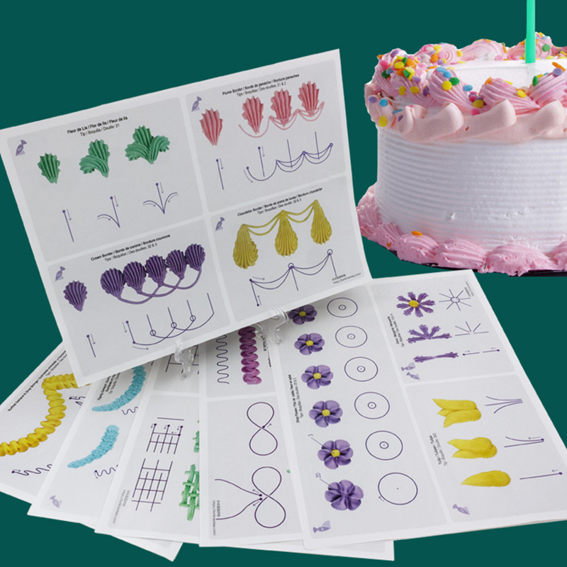 Cake Decorating Practice Sheets Download : 23 Sheets Cake Decorating Practice Board Icing Practicing ...