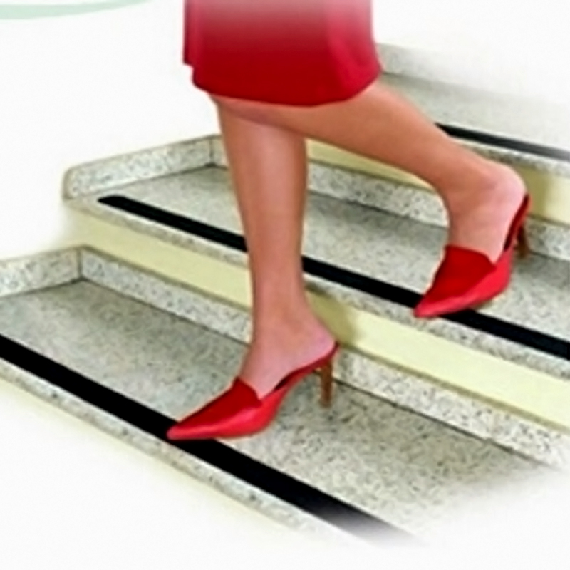 Non Slip Stair Treads Safety Stripe Anti Skid Tape High Traction Indoor Outdoor Ebay