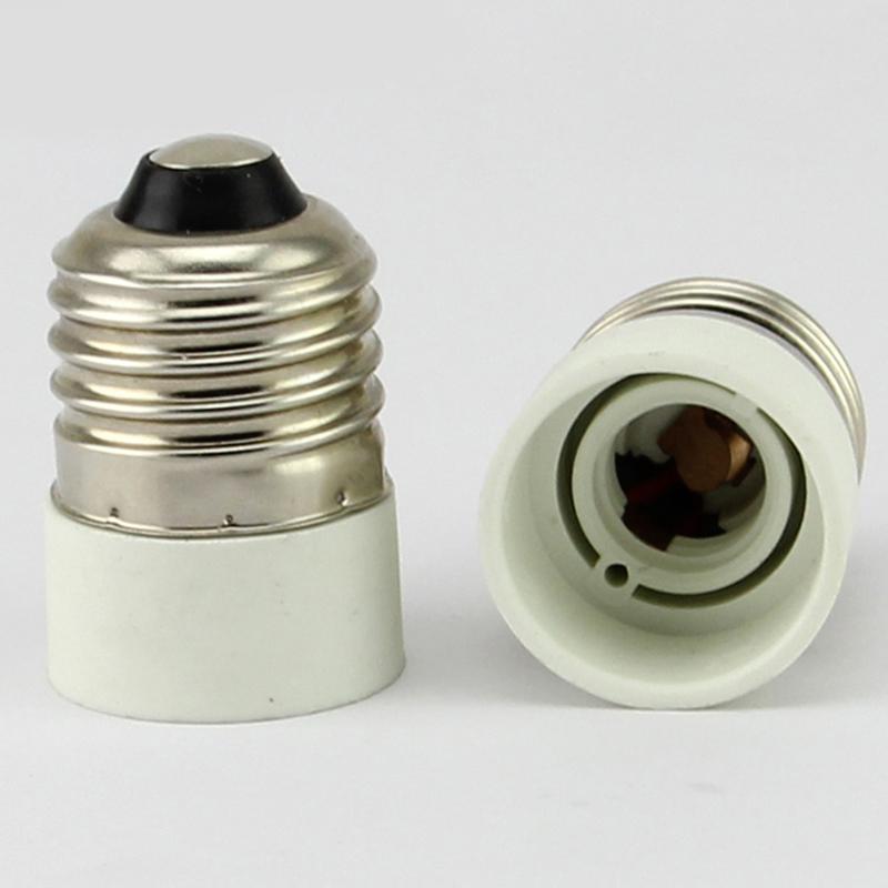 1 5x e27 to e14 socket lamp holder extend base led light bulb adapter converter ebay. Black Bedroom Furniture Sets. Home Design Ideas