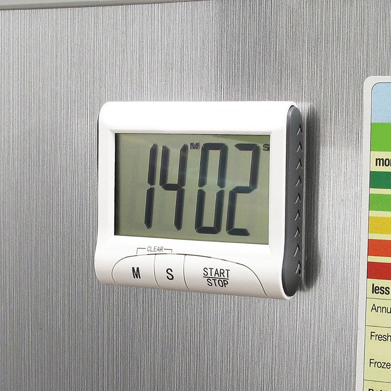 Küchenwecker Digital ~ weiß kurzzeitmesser magnetisch eieruhr küchenwecker timer digital lcd stoppuhr ebay