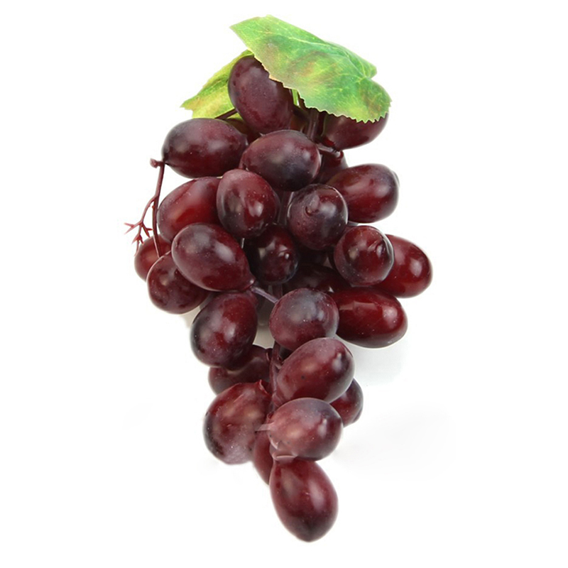 36grapes lifelike artificial grapes plastic fake fruit for Artificial fruit decoration