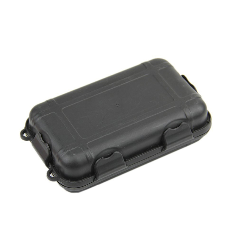 2Sizes Outdoor Plastic Waterproof Airtight Survival Case Container Storage BoxMR