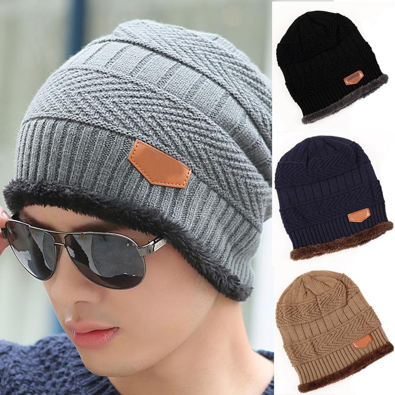 neuf homme femme hiver tricot crochet souple bonnet de ski. Black Bedroom Furniture Sets. Home Design Ideas