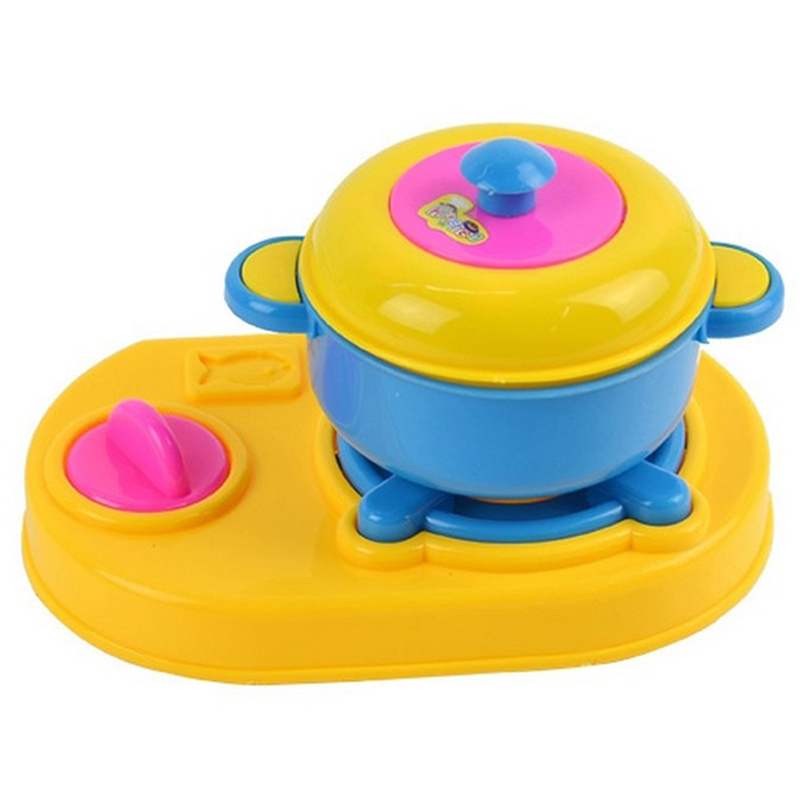 Play Cooking Toys : Kids play toy kitchen cooking food utensils pan pot