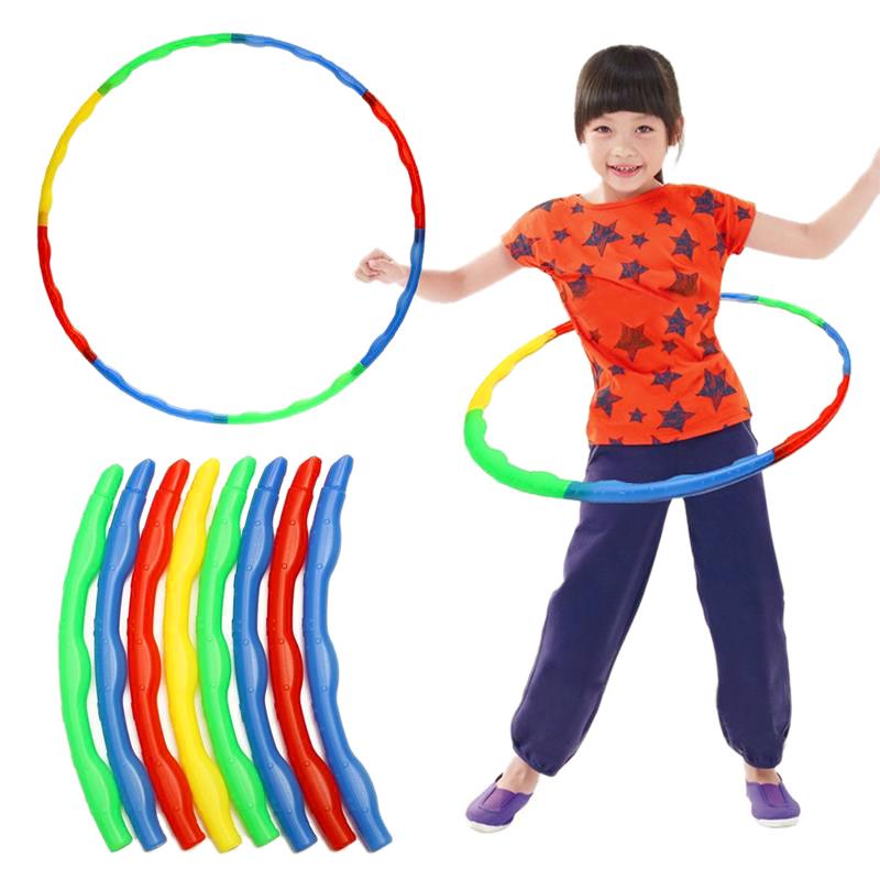1portable slot together hula hoop adjustable adult child. Black Bedroom Furniture Sets. Home Design Ideas