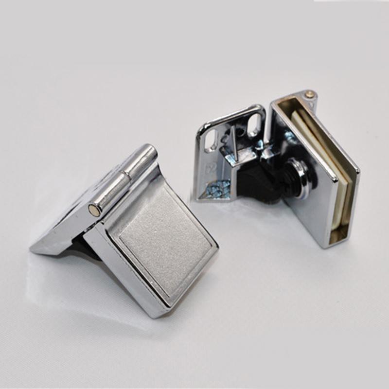 1 Pair Of Glass Door Display Cabinet Metal Hinge Zinc