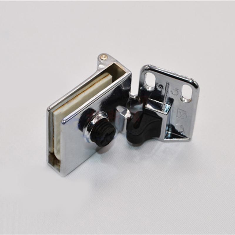 Glass Cabinet Door Hinge : Pair of glass door display cabinet metal hinge zinc