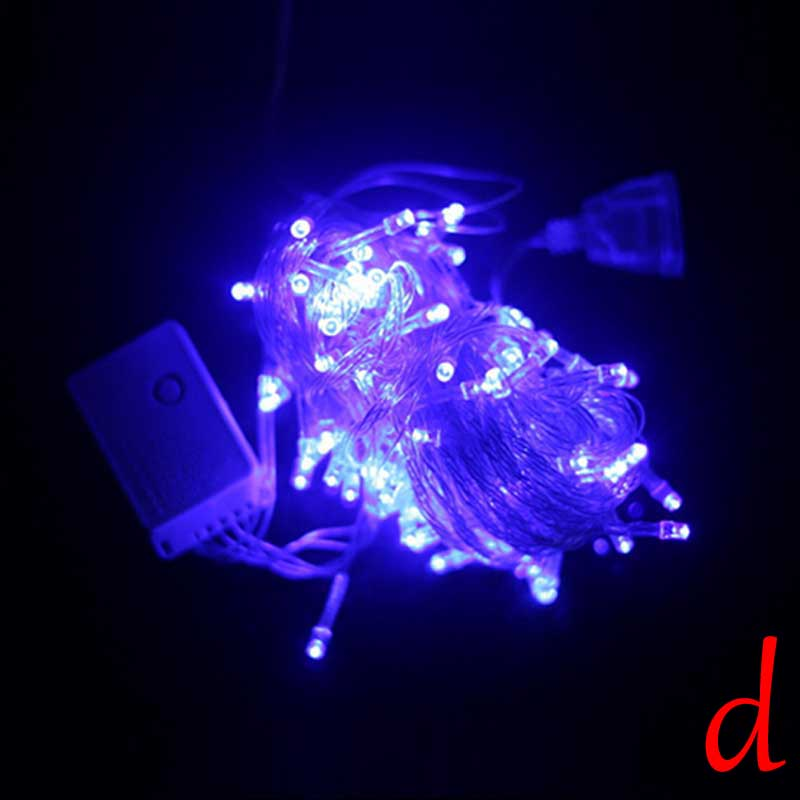 Led Party String Lights : 8 Colors 100 LED 10M Fairy String Lights Christmas Tree Xmas Party Wedding Decor eBay
