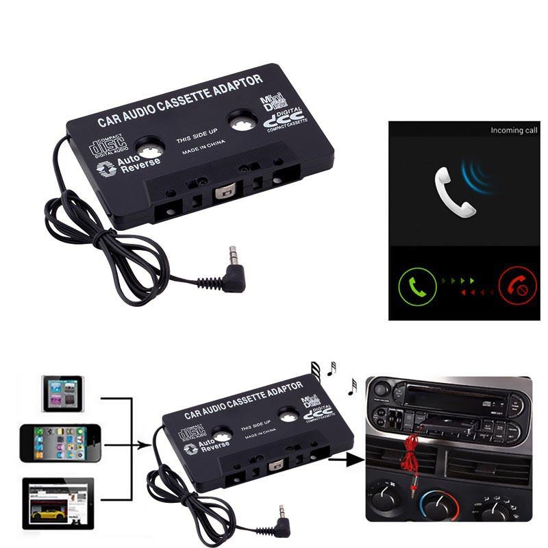voiture auto radio cassette adaptateur pour nano cd lecteur mp3 md iphone ebay. Black Bedroom Furniture Sets. Home Design Ideas