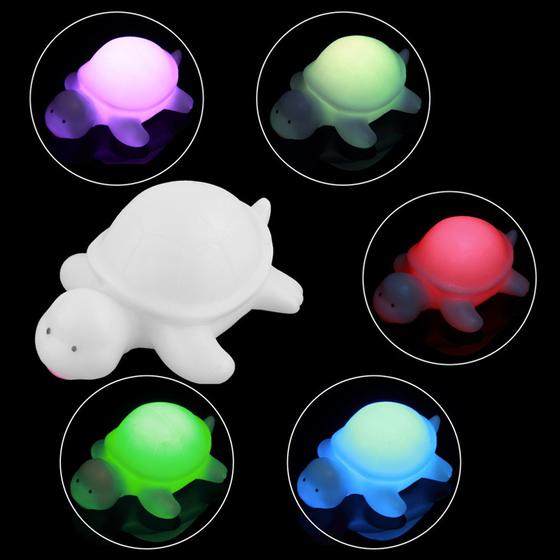 cute turtle led colors changing night light lamp home party christmas tree decor ebay. Black Bedroom Furniture Sets. Home Design Ideas